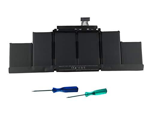 CYDZ A1417 battery Compatible with Apple MacBook Pro Retina 15' A1398 Mid 2012 to early 2013 ME698XX/A ME665XX/A ME664XX/A MD831XX/A MC976XX/A MC975XX/A 8460mah 10.95V