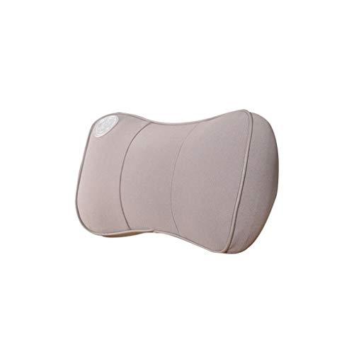 XINYING Reposacabezas del Coche Almohada de Espuma de Memoria Almohada del Cuello del Coche Almohada del Asiento del Coche de Cuatro Estaciones Almohada Principal (Color : A)