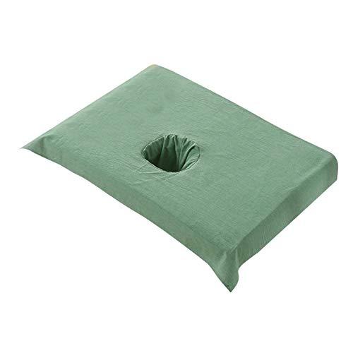 Hellery Premium Qualité Lit Feuilles Feuilles de Table de Massage pour le Massage, Spa, Tatouage 19.68x27.55inch - Foncé Vert