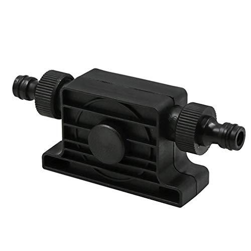LIXUDECO Bomba de Agua de Portátil 1800 m3 / h Caudal autocebante Transferencia de petróleo Bomba de Agua Líquido 8mm Ronda vástago de Taladro eléctrico con el Conector de la Manguera