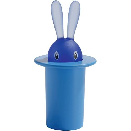 Alessi Magnet in Thermoplastic Resin, Magic Bunny Blue by Alessi