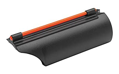 TRUGLO Glo-Dot II .410 Gauge Fiber Optic Shotgun Sight for Plain Barrel Shotguns, Red