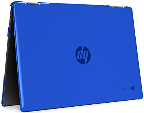 mCover Hard Shell Case for 2020 14' HP Chromebook X360 14b-CAxxxx Series laptops (Blue)