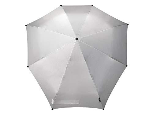 Senz° Automatik Regenschirme Nie Aus Der Mode Faltbare Schirme Mit automatischer Öffnungs- und Schließfunktion - Silber