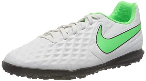 Nike Legend 8 Club TF, Scarpe da Calcio Unisex-Adulto, Platinum Tint/Rage Green-Black, 44.5 EU