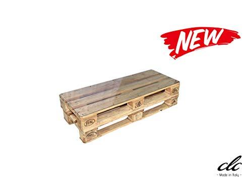 clc Table Palette Made in Italy EPAL Eco Interiors - Bois Non Verni 120x46