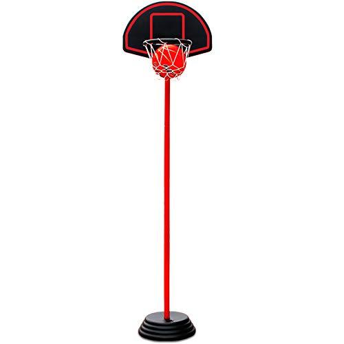 ZZLYY Canasta Baloncesto Infantil, Puede Elevar El Soporte De Baloncesto De 135-228 cm, Deportes De Baloncesto En Interiores Y Exteriores para Niños Mayores De 6 Años