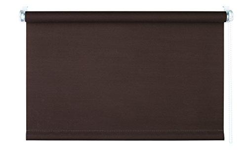 mydeco® 90x210 cm [b x h] in bruin - rolgordijn zonder boren - klemrolgordijn - rolgordijnen incl. klemdragers - zonnescherm, inkijkbescherming voor ramen