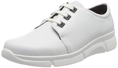 Berkemann SWEA, Sneakers Basses Femme, Blanc (Weiß 101), 40 2/3 EU