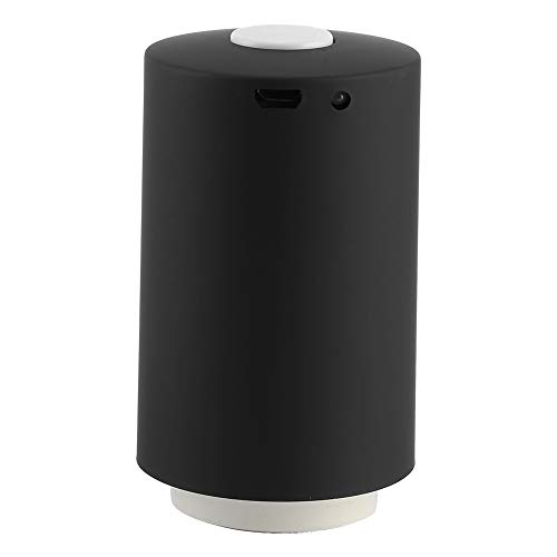 Leichter Haushaltsvakuumierer, Kompressionsvakuumpumpe, Mehrzweck für die Küche Reisen nach Hause(Black)