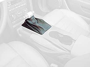 RedlineGoods Shift Boot (AUTO) Compatible with Ford Mustang 2005-09. Black Leather-Black Thread