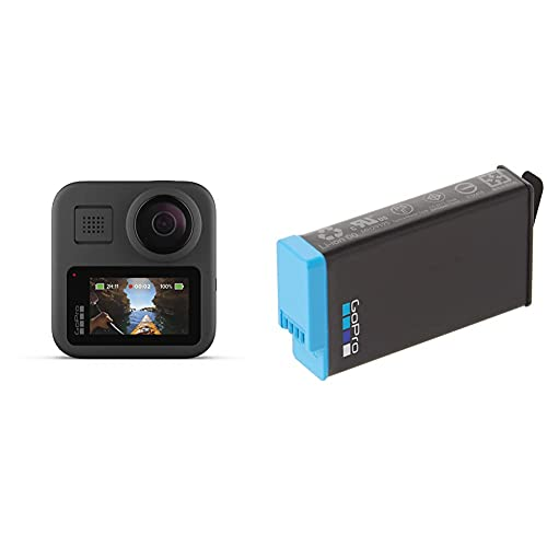 GoPro MAX — Waterproof 360 + Traditional Camera with GoPro Rechargeable Battery (MAX) - Official GoPro Accessory