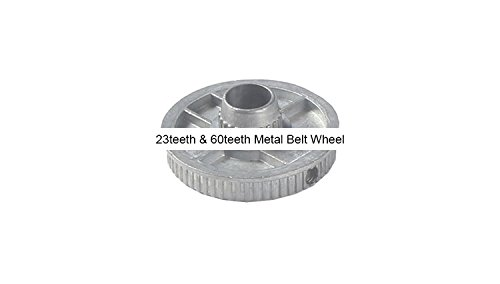 Review New Z006B 23teeth & 60teeth Metal Belt Wheel/Zhouyu Accessory