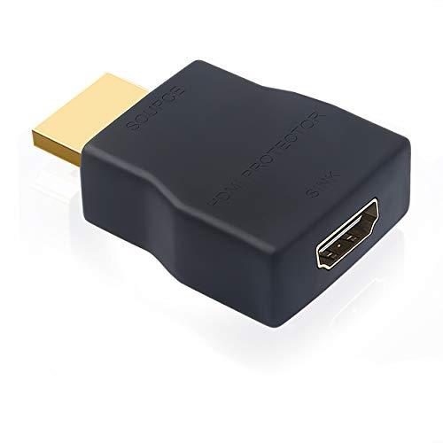 Mini HDMI Sobretensiones Portátil Protector contra Sobretensiones Protección ESD Soporte HDCP Adecuado para Dispositivos De Visualización, Computadora, Máquina de Publicidad, 1PC