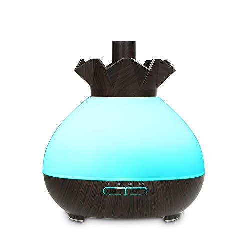 OWSOO 400ml Humidificador WiFi Inalámbrico con LED Lámpara,...