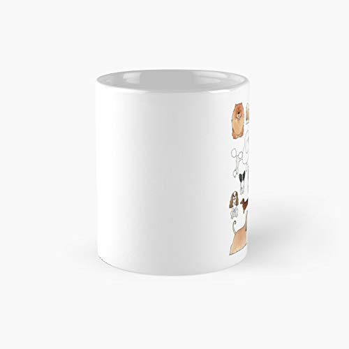 Dogs Classic Mug - Ceramic Coffee White (11 Ounce) Tea Cup Gifts For Bestie, Mom And Dad, Lover, Lgbt