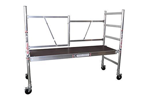 """AC Rollgerüst, Zimmergerüst""""xPress Basic-SX"""" Fahrgerüst kompakt bis 3,0 m Arbeitshöhe, 1,90 m Plattformlänge"""