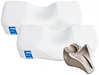 [公式] Kanuda cv4Traction Pillowダブルセット、メモリーフォーム枕、Cervical枕(Medium)–Made in korea-