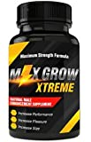 Max Grow Xtreme- All Natural Supplement- Surge Drive and Energy- Increase Confidence- Increase Size and Endurance