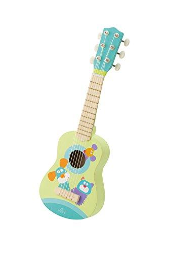 Trudi- Peluche Guitarra, Color Verde (82983)