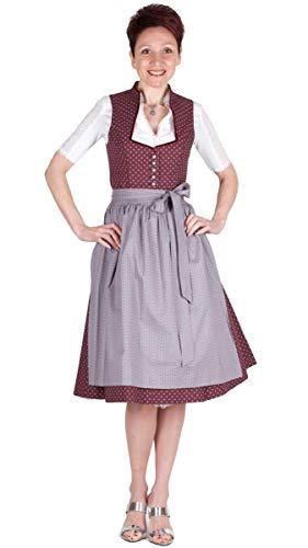 Wenger Dirndl Sophie 16512 65er Pflaume Größe 40