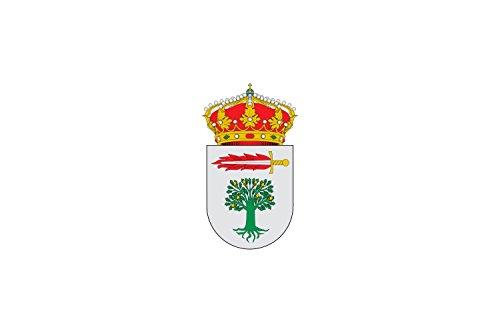 magFlags Drapeau Large Robledillo de la Vera   Town of Robledillo de la Vera; in Cáceres, Spain   Municipio de Robledillo de la Vera; en Cáceres   Drapeau Paysage   1.35m²   90x15
