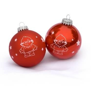 Mainzelmännchen Weihnachtskugeln