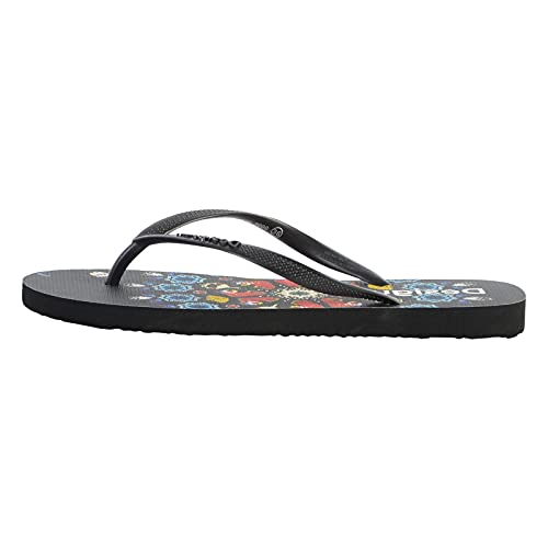 Desigual Shoes_Flip Flop_BUTTERFL, Beach. Mujer, Negro, 39 EU