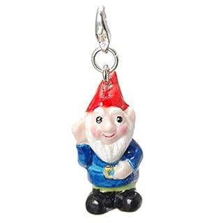 Miyabilondon Handmade Porcelain Gnome Charm