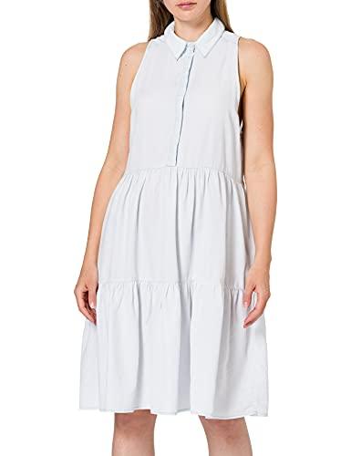 REPLAY W9635 Vestido, 010 Azul Claro, L para Mujer