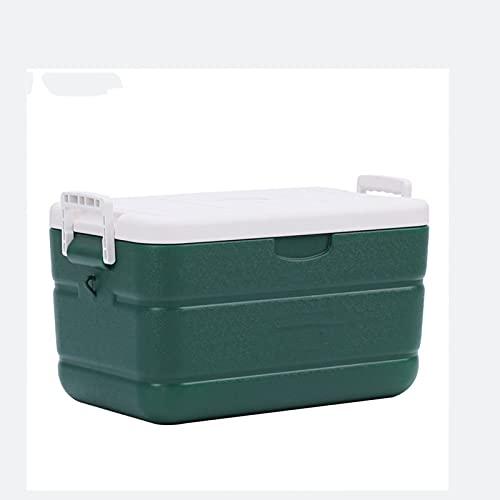 Caja De Hielo para Alimentos Y Bebidas Diseño De Mango Antideslizante, Proporciona Un Buen Aislamiento Térmico Y Frío Utilizado para Pesca, Comida para Llevar, 30 L, Verde Oscuro