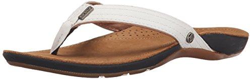 Reef Miss J -Bay, Women's Sandals, Beige (Tan/White), 6 UK (38.5 EU) (8 US)