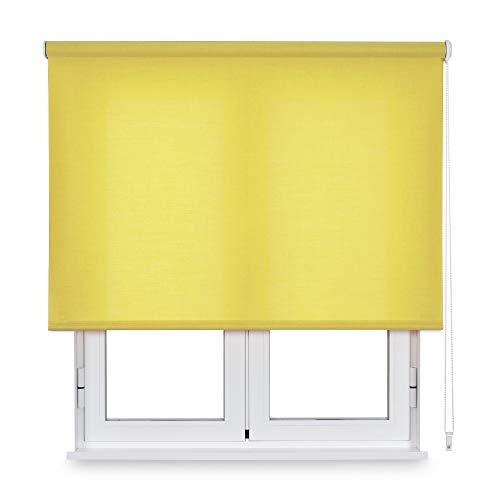 Viewtex - Estor Enrollable TRASLÚCIDO - Modelo TREVIRA - Disponible EN Varias Medidas Y Colores