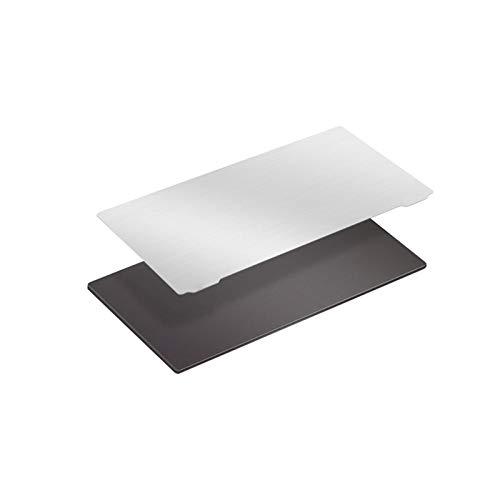Resina Stampante 3D Piastra di Costruzione Primavera Piastra in Acciaio con Adesivo Magnetico e Maniglia Parti Stampante 3D Magnetico Flessibile Piastra Acciaio Flessibile Letto Flessibile