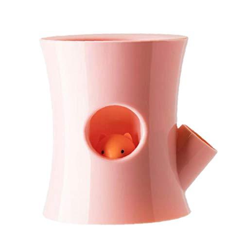 Yililay Auto-riego Tiesto, absorbentes de Agua suculento de Planter, Libre de Agua hidropónico Lazy Maceta para la decoración casera Rosa