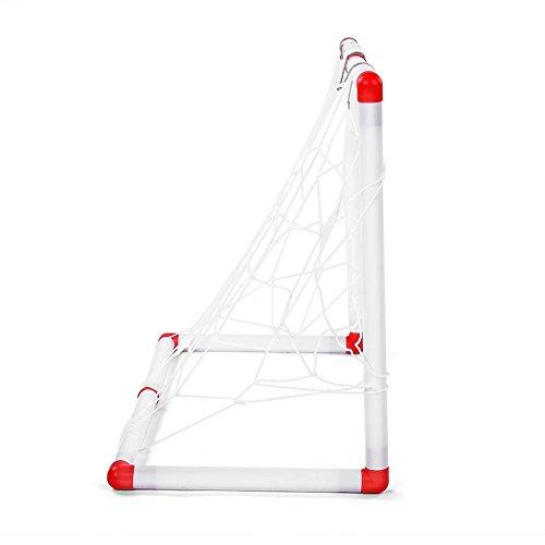 Zerodis Soccer Game With Goal Akcesoria Zabawki Rodzice Dzieci Koordynacja Outdoor Indoor Soccer Prezent Dla Małych Dzieci