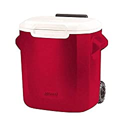 best small cooler Coleman 16 red