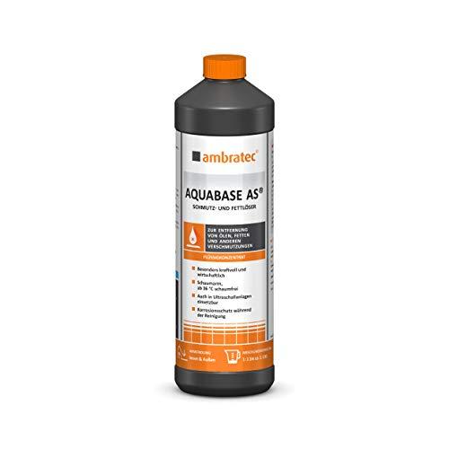 Ambratec AQUABASE AS® 1 Liter Konzentrat SCHMUTZ- UND FETTLÖSER Korrosionsschutz Entfettung Maschinenreinigung