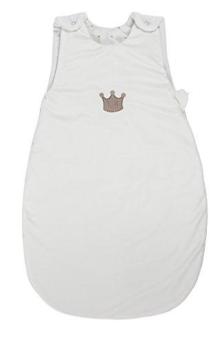 Nattou 777490 Schlafsack, Max, Noa & Tom, 70 cm, weiß