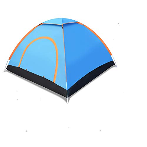 Strong Camel Pop up Camping Tent Portable 3-4 Person for Backpacking Traveling with Carry Bag