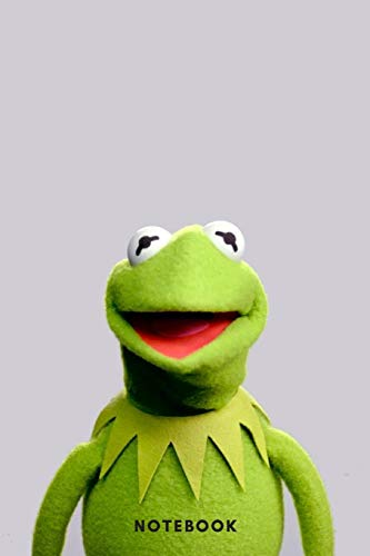 Kermit The Frog Notebook | A5 Lined Notebook 6 x 9 inches (15 x 22 cm) | 120 pages