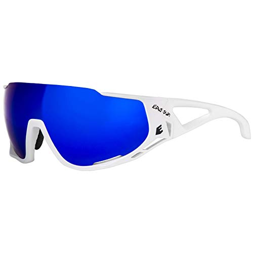 EASSUN Gafas de Ciclismo Mortirolo, Solares Cat 2 o 3, Antideslizantes y...