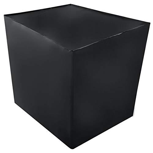 Preisvergleich Produktbild REKUBIK IBC Cover UV-Schutz Folie geschlossen in Schwarz Tankgröße 600l IBC (120x80x100cm)