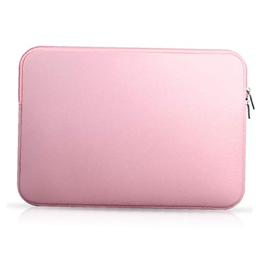 Tablet Case Portable Laptop Collision Avoidance Liner 15.6 Inch Notbook Bag Compatible with iPhone Pink Practical Tools