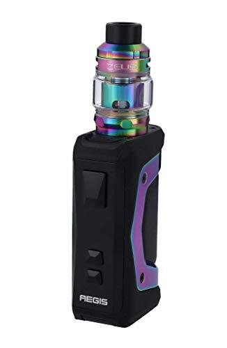 Aegis X mit Zeus Subohm E-Zigaretten Set - Zeus Subohm-Verdampfer - 5ml - max. 200 Watt - von GeekVape - Farbe: regenbogen-schwarz