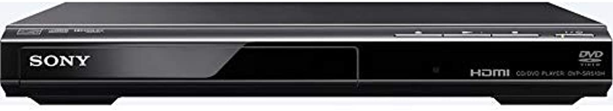 SONY DVPSR510H DVD Player with 6ft High Speed HDMI Cable (Renewed)