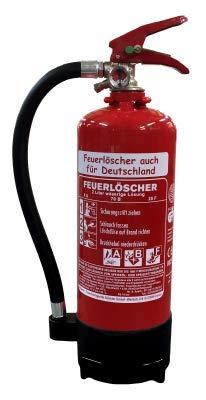 NEU OVP 2 L Fettbrand Schaum Feuerlöscher DIN EN 3 GS, 8 A, 70 B, 25F (Ohne Prüfnachweis u. Jahresmarke)