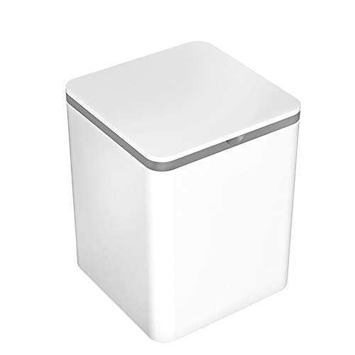 ZnMig Light Washing Machine Underwear Washing Machine Artifact Special Sterilization Washing Socks Mini Small Washing Machine Underwear Cleaning (Color : White, Size : 19x19x20cm)