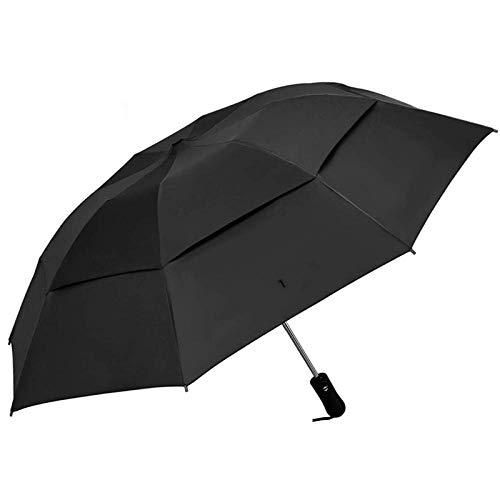 Draagbare paraplu's Omgekeerde automatische paraplu winddichte compacte paraplu binnen Omgekeerde paraplu Auto openen en sluiten regen paraplu