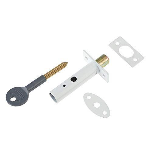 Yale Locks P2PM444WE Visi Pack - Perno de Seguridad Oculto para Puertas (1 Unidad), Color Blanco [Importado de Reino Unido]
